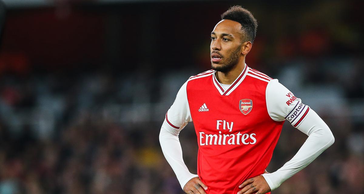 Rayé du onze d'Arsenal contre Tottenham, Aubameyang n'a pas apprécié sa sanction