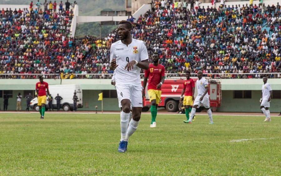 Louis Mafouta, auteur de quatre buts dans les éliminatoires de la CAN