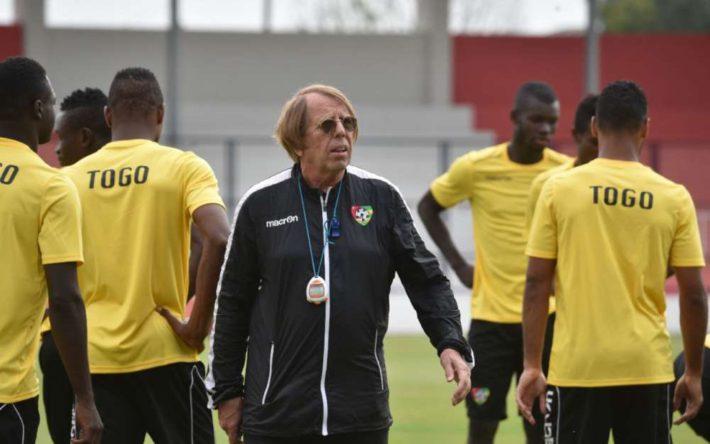 Claude Leroy, Togo