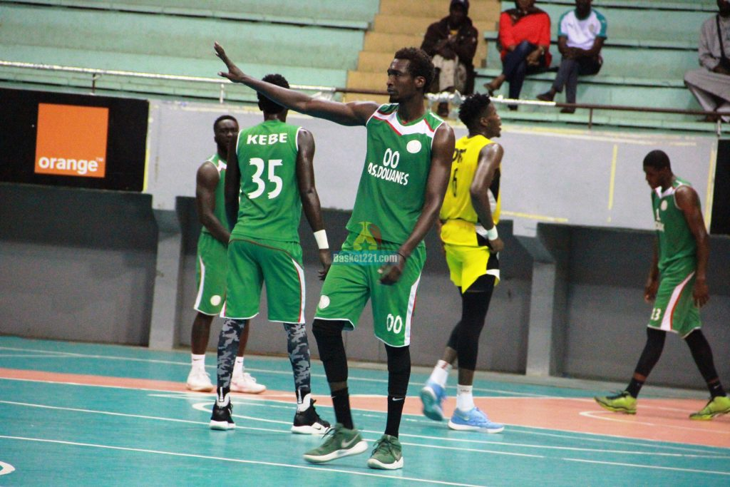 AS Douane perd son 2e match championnat du Sénégal de basket