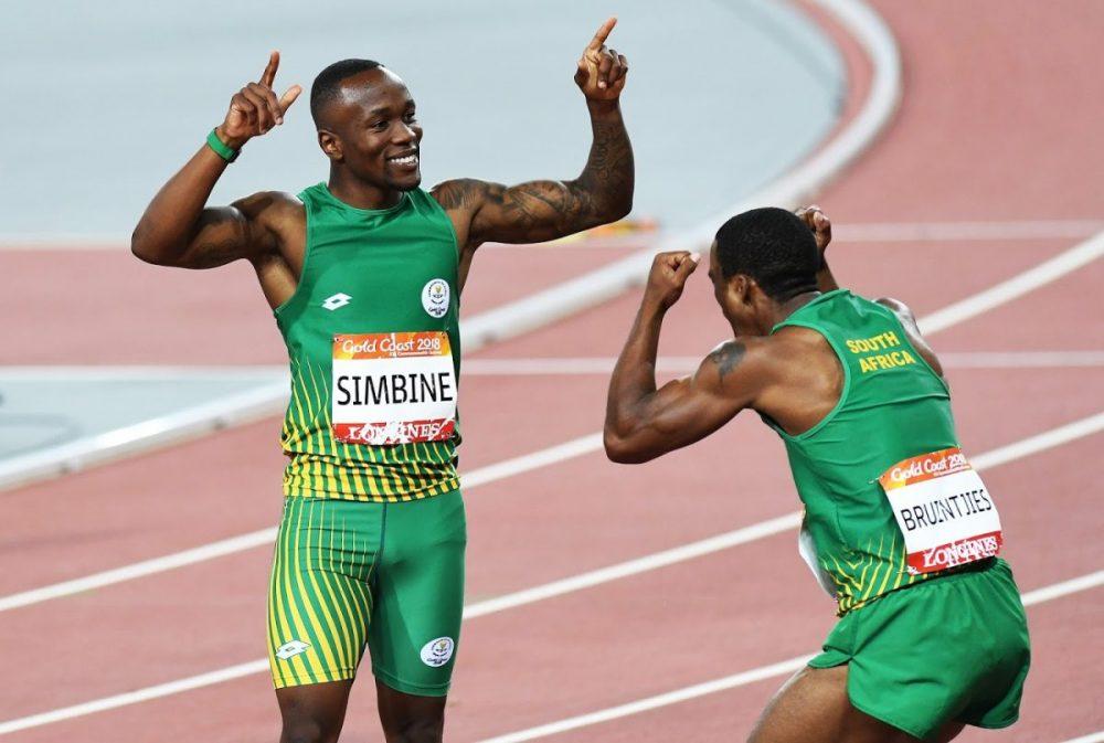 Afrique du Sud aux relais mondiaux