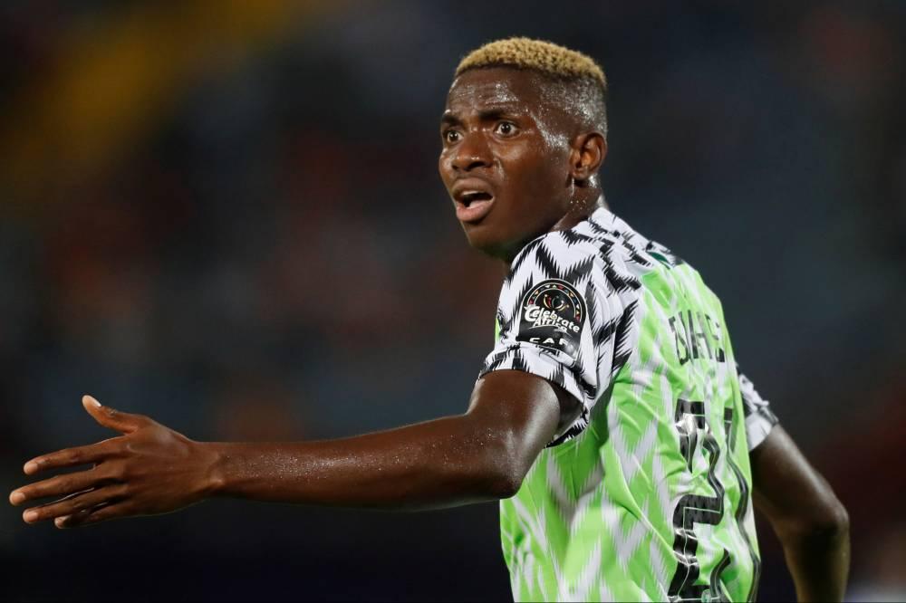 Victor Osimhen, attaquant du Nigeria