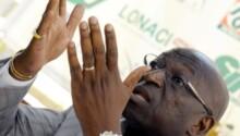 Jacques Anouma, candidat présidence CAF