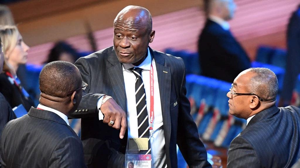 Constant Omari, président par intérim de la CAF