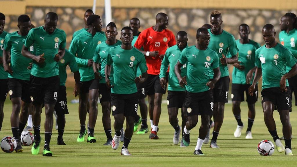 Equipe nationale du Sénégal.