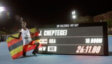 Cheptegei cherche le record du 3000 m