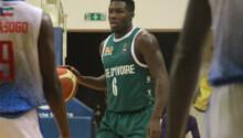 Bryan Pamba appelle se coéquipiers au sérieux pour assurer la qualication à Afrobasket 2021
