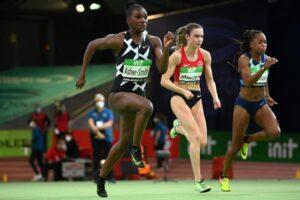 Dina Asher-Smith très démonstrative sur 60 m