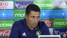 Houcine Ammouta, coach du Maroc (CHAN)
