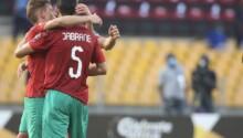 Jabrane félicité après son but sur penalty
