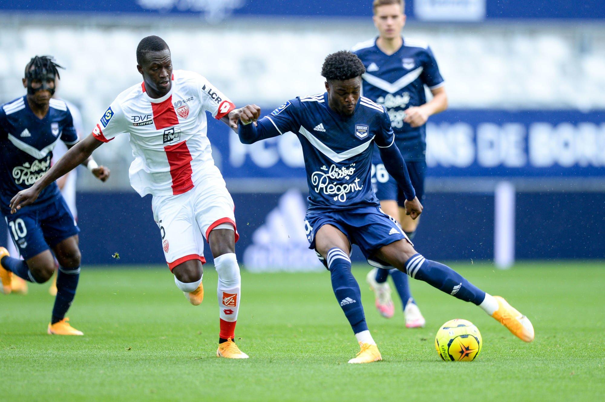 Josh Maja (Bordeaux) contre Dijon FCO
