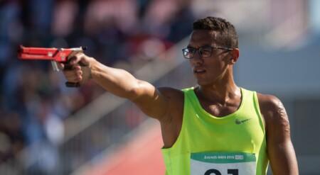 L'Égyptien Ahmed Elgendy, champion du monde jeunes et juniors 2018