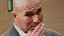 L'entraîneur du Real, Zinedine Zidane, positif au Covid-19