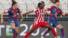 Nchout Ajara, déjà un doublé et un trophée pour l'Atlético Madrid