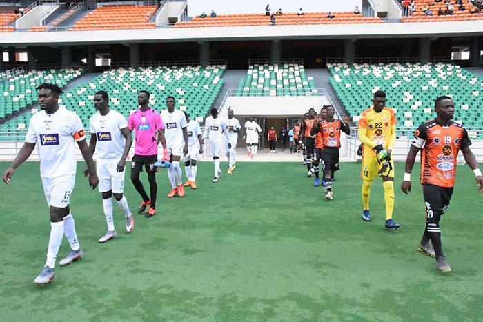 Jaraaf en Coupe CAF