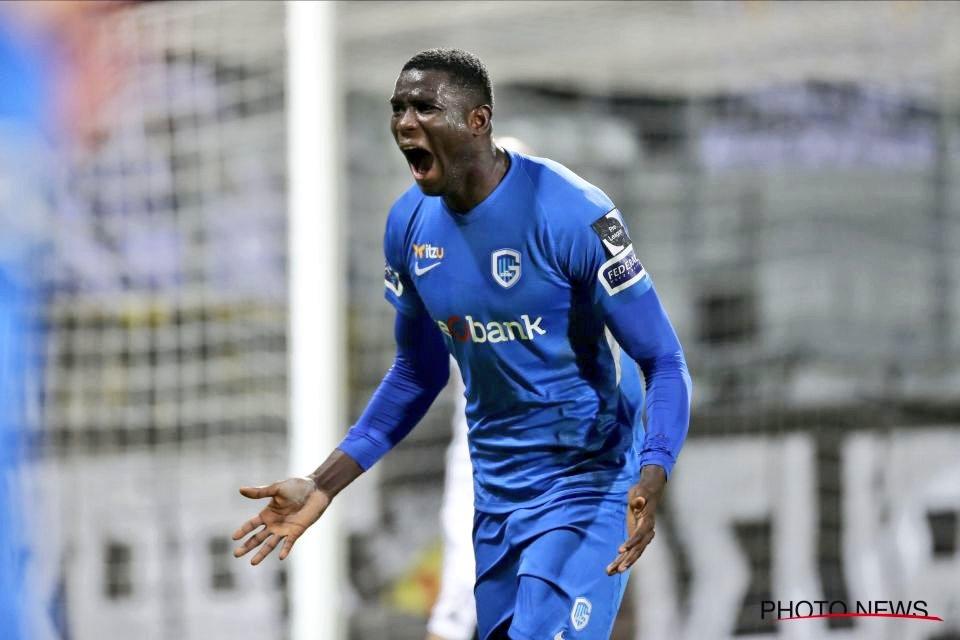 L'international nigérian Paul Onuachu, attaquant de Genken Pro League