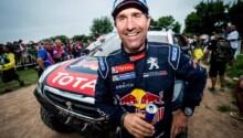Stéphane Peterhansel, Monsieur Dakar affiche le sourire