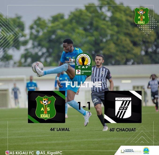 Le CS Sfaxien élimine l'AS KigaliLe CS Sfaxien élimine l'AS Kigali