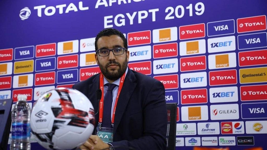 Abdelmounaïm Bah, secrétaire général de la CAF.