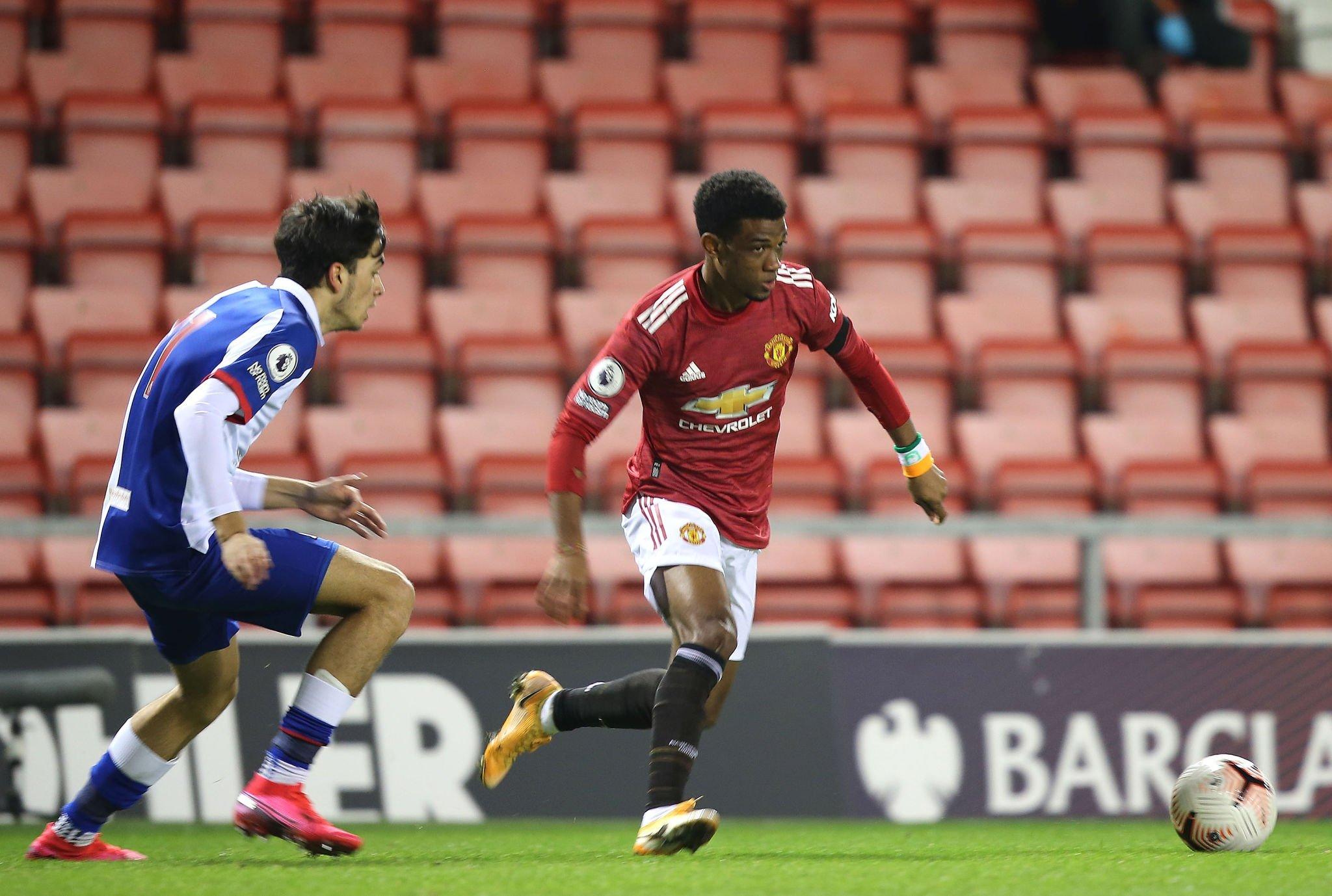 Amad Diallo, impressionnant en U23, frappe à la porte de Manchester United