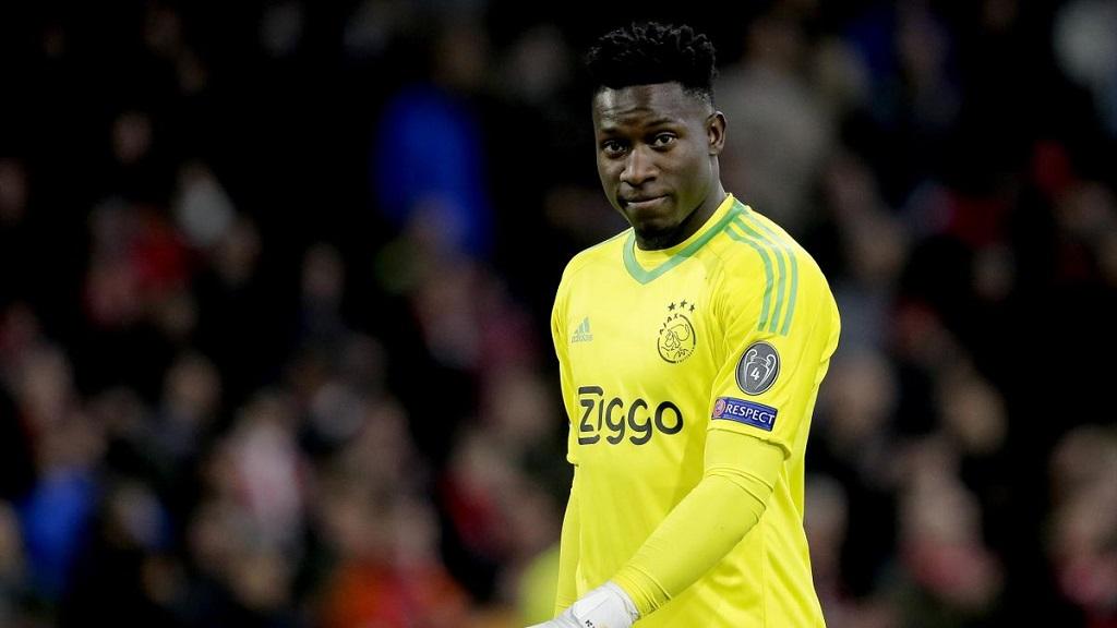 André Onana-le gardien camerounais suspendu douze mois par l'UEFA pour dopage.