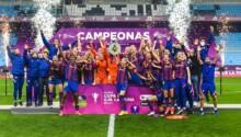 Barça et Oshoala gagnent la Coupe d'Espagne