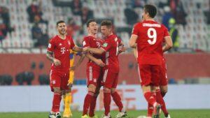 Bayern Munich, vainqueur du Mondial des clubs 2021