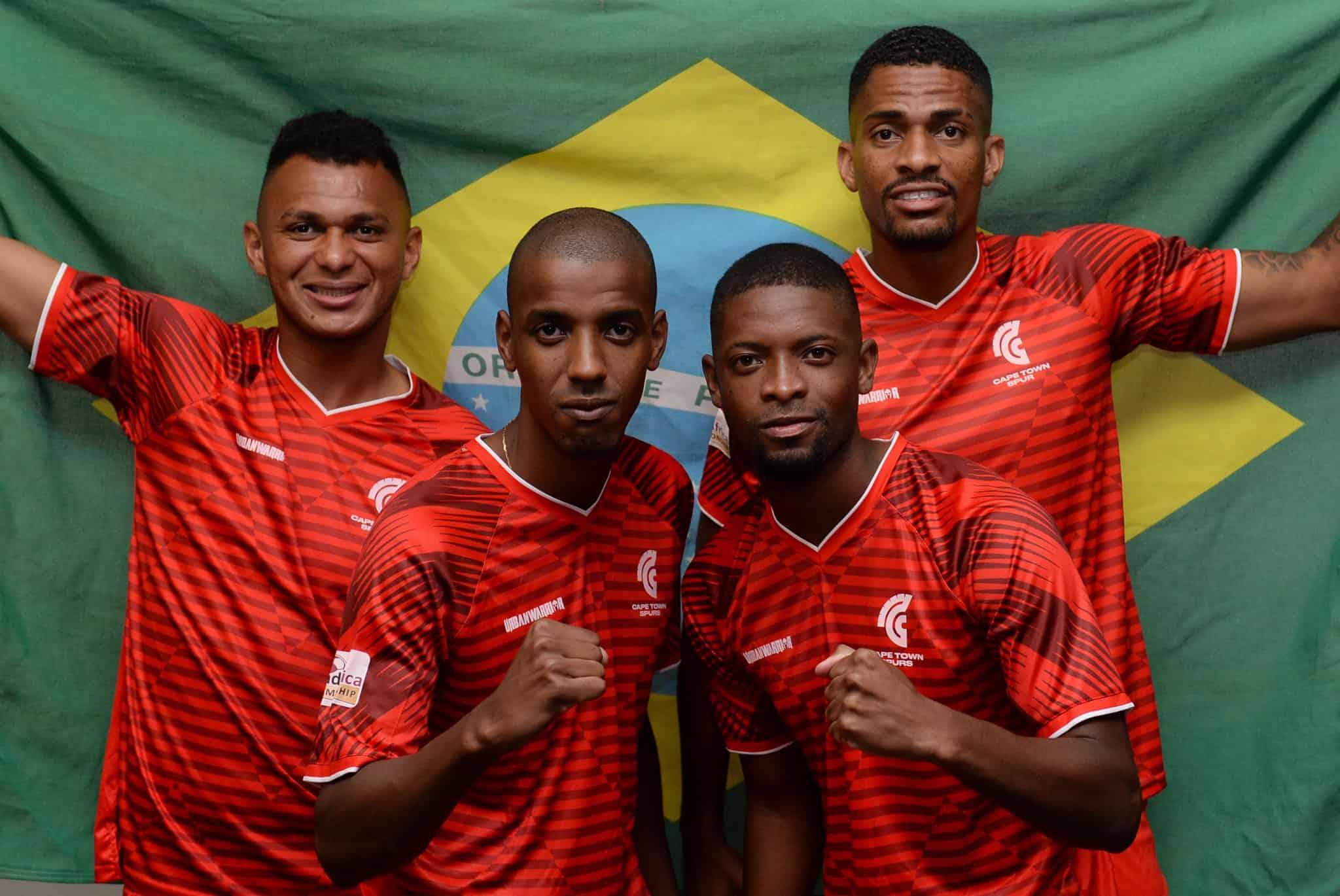 Cap Town Spurs a désormais 4 Brésiliens dans son effectif