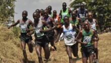 Compétition de Cross-country au Kenya