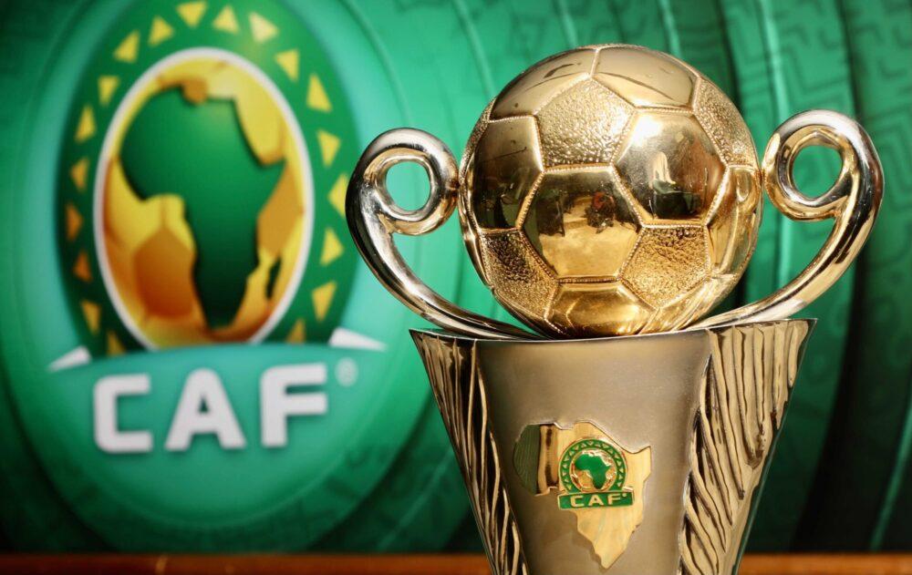 Le trophée de la Coupe CAF, détenu par RS Berkane