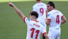 Munir El Haddadi enchaîne les buts avec Séville