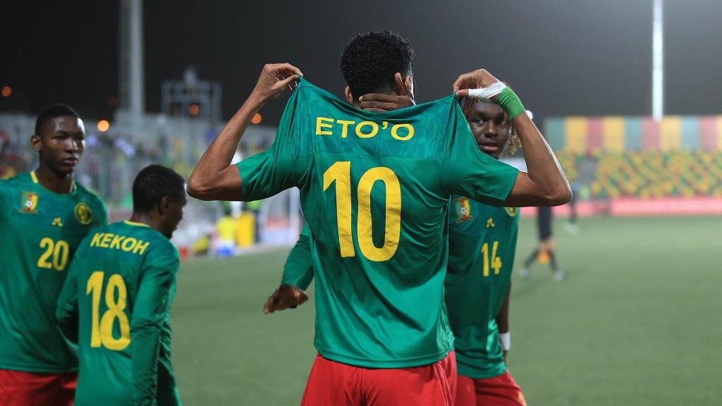 Etienne Eto'o Pineda, le fils de Samuel porte le Cameroun face au Mozambique.