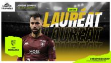 Farid Boulaya meilleur de Ligue 1du mois de janvier