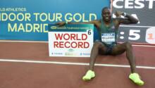 Grant Holloway bat le record du monde sur 60 m haies