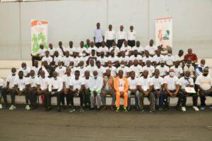 Les membres de la Fédération ivoirienne de boxe