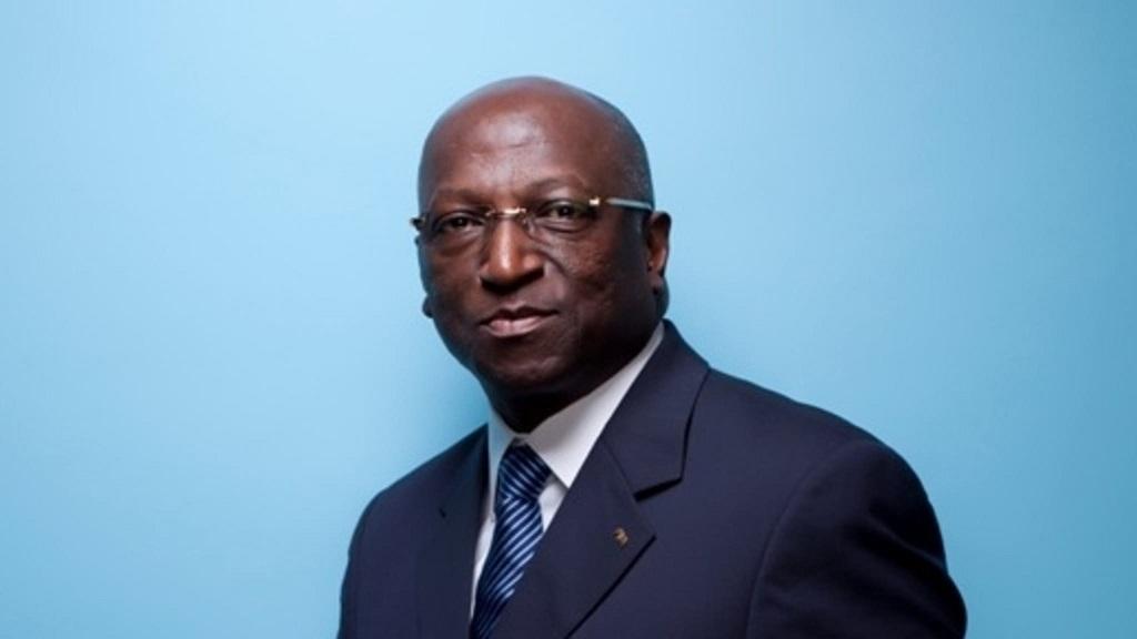 Jacques Anouma, candidat à la présidence de la CAF.