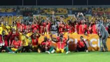 La Guinée, médaillée de bronze du CHAN 2021