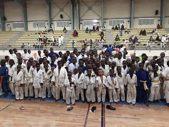 la saison de judo officiellement lancée en Côte d'Ivoire