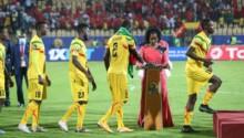 Les Maliens prennent leur médaille d'argent du CHAN