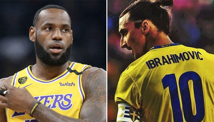 Lebron James recadre Zlatan