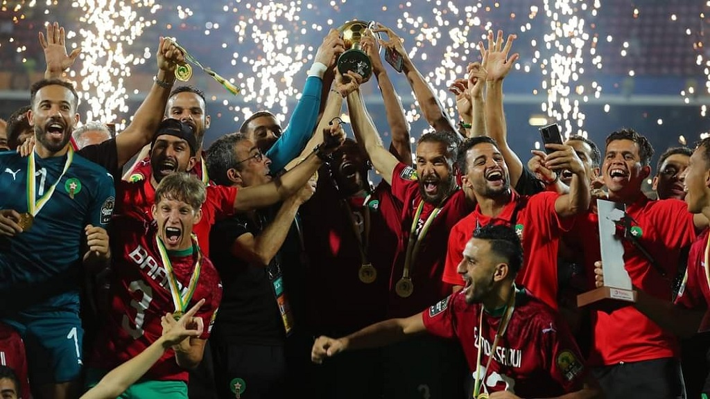 Les Marocains soulèvent leur deuxième trophée du CHAN.