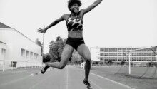 Noélie Yarigo, athlète béninoise spécialiste du 800 m