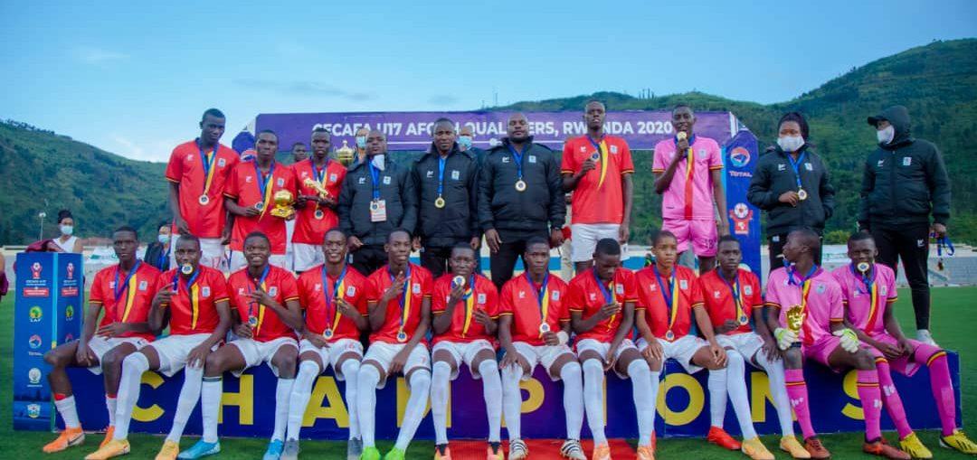 Ouganda U17 vainqueur du trophée CECAFA