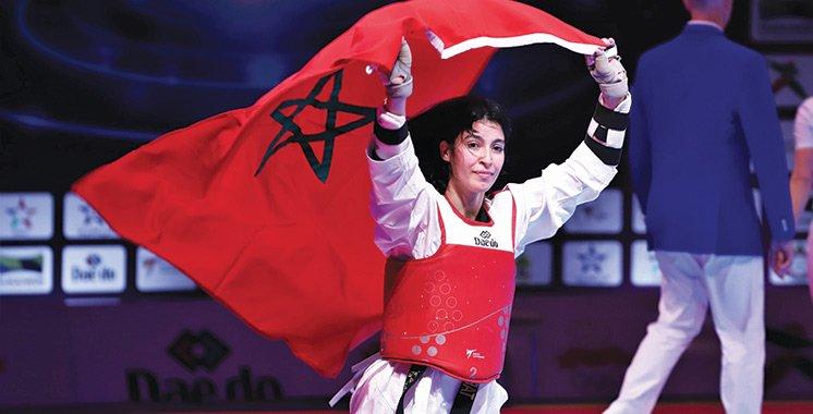 Oumaima El Bouchti, espoir du taekwondo aux JO
