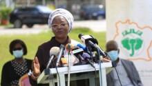 Mariam Dao Gabala , présidente Comité de normalisation du football ivoirien