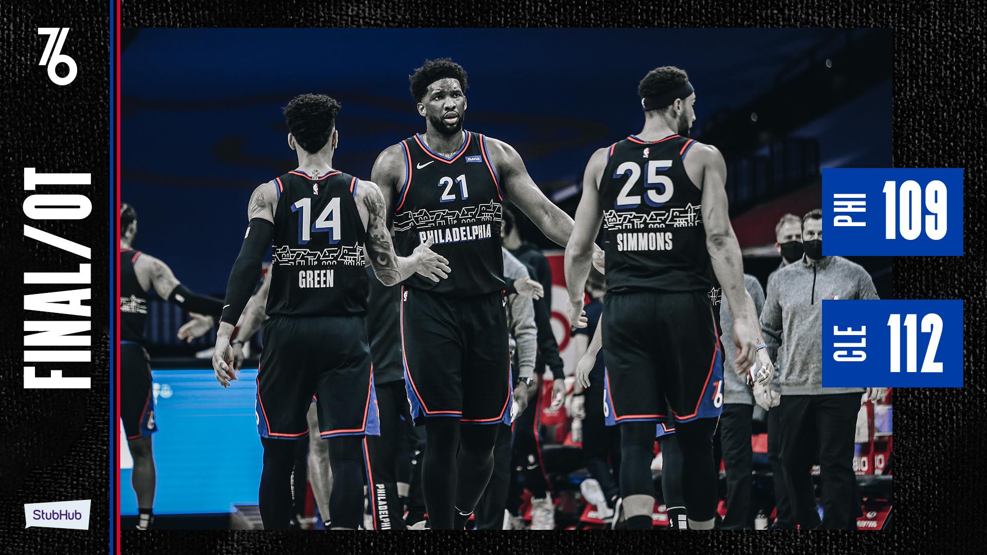 Philadelphie s'incline à domicile contre Cleveland