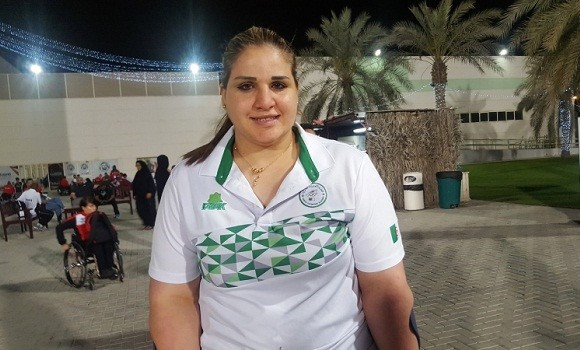Safia Djelal remporte l'or au Grand Prix Fazza
