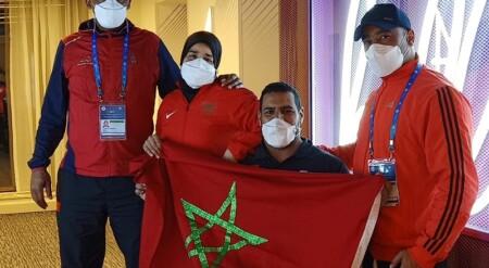 Saida Amoudi remporte deux médailles d'or sous les couleurs du Maroc au GP Fazza