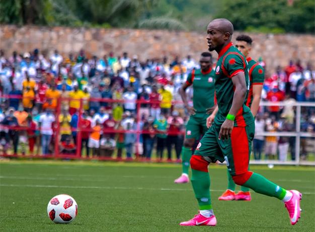 Saïdi Ntibazonkiza, double buteur du Burundi contre la Mauritanie
