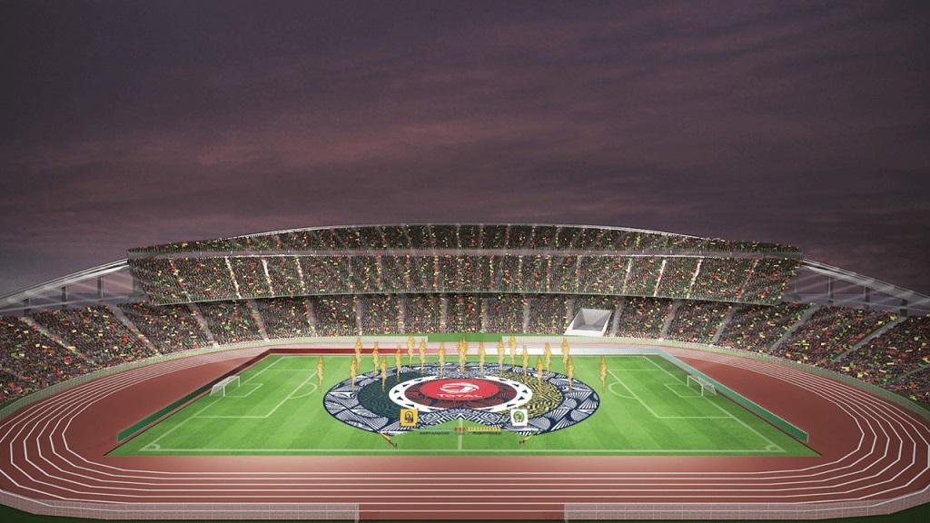 Stade Ahmadou Ahidjo de Yaoundé abrite la finale du CHAN 2021.